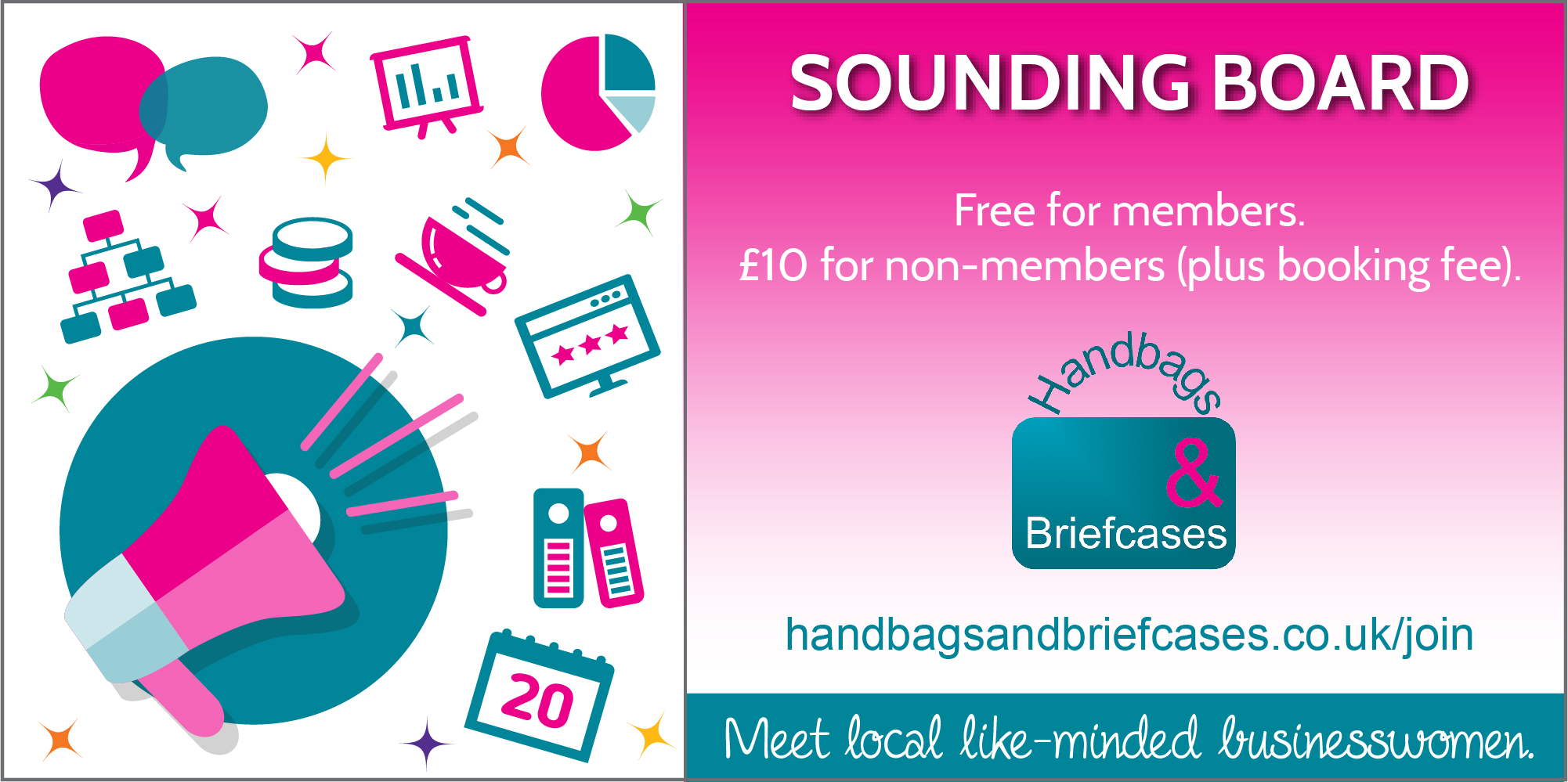 Book our April Sounding Board Event