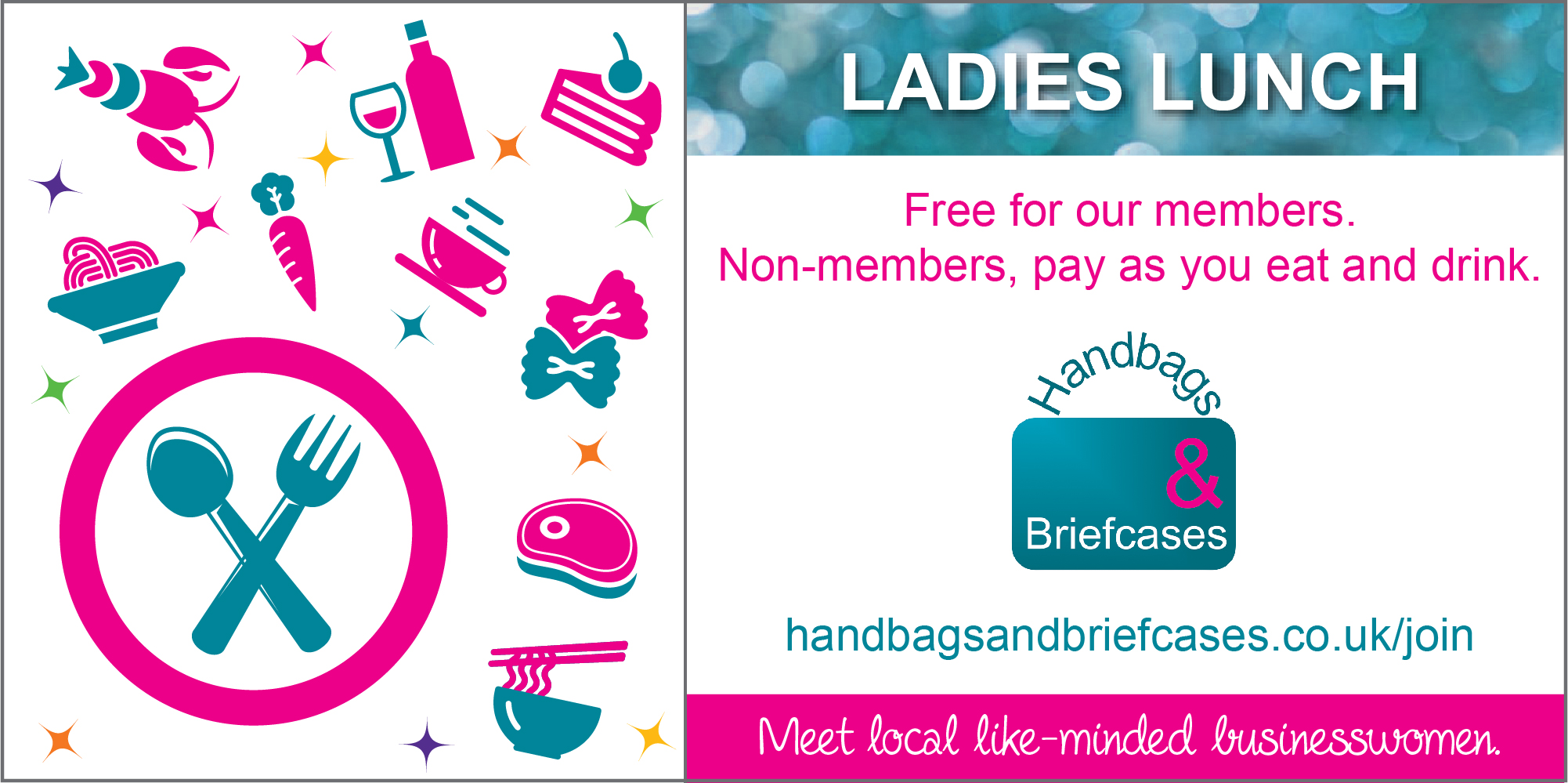 Book our February Ladies Lunch
